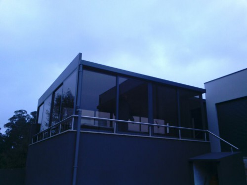 portfolio 159/188  - terraço transformado em salão