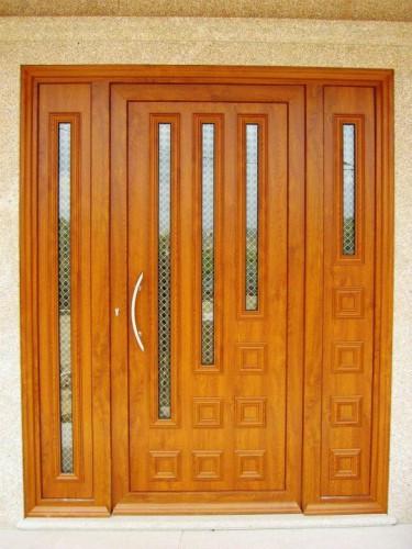 portfolio 185/188  - porta em lacado madeira