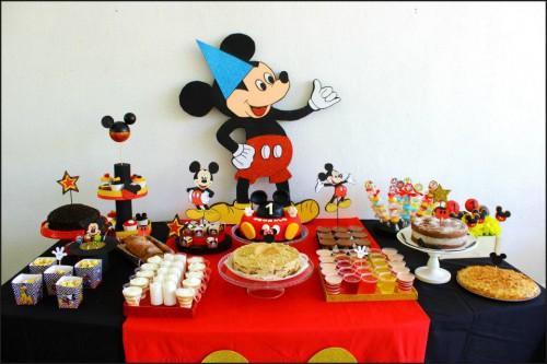 portfolio 3/6  - doces e decoração mickey