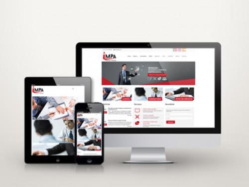 portfolio 16/34  - Criação de website para empresa de contabilidade