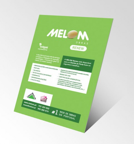 portfolio 7/34  - Criação de flyer para a Melom