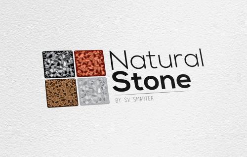 portfolio 2/34  - Criação de logótipo - Natural Stone