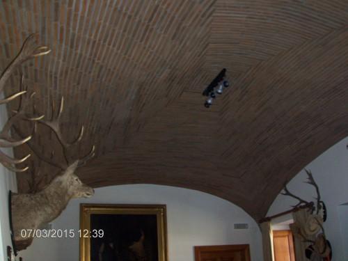 portfolio 3/9  - tecto em abobada feito em tijolo burro