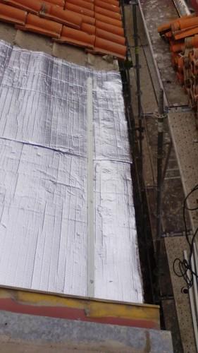 portfolio 164/449  - Isolamento do telhado com manta termica