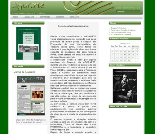 portfolio 8/9  - http://www.agorarte.pt/