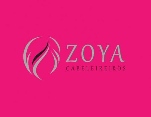 portfolio 2/7  - Logótipo Zoya Cabeleireiros