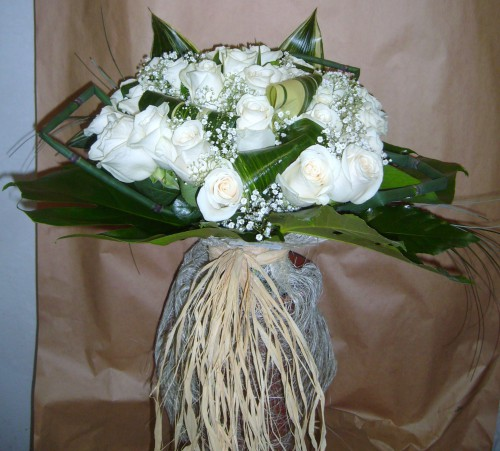 portfolio 9/9  - Bouquet Flores Rosas brancas