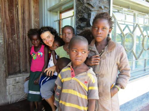 portfolio 4/4  - Voluntaria na Zambia