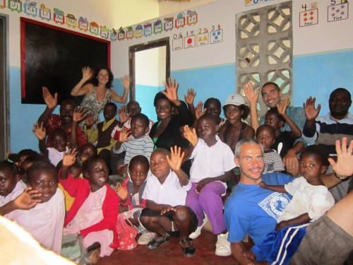 portfolio 3/4  - Voluntarios na Zambia