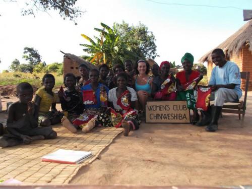 portfolio 2/4  - Voluntarios na Zambia