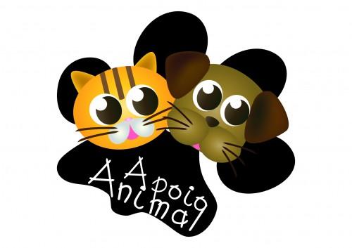 """portfolio 4/9  - Logótipo """"Apoio Animal"""""""