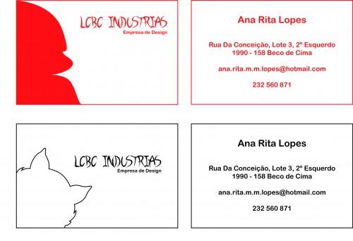 "portfolio 3/9  - Cartões ""Lobo Industrias"""