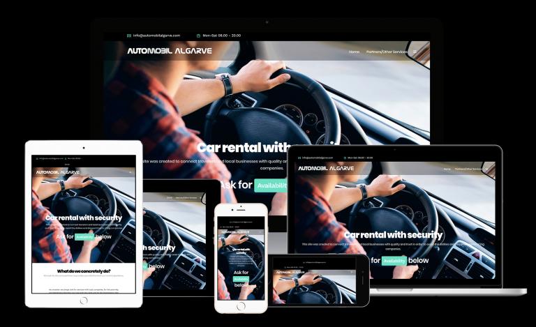 portfolio 1/8  - Automobil Algarve como viajante procura sempre serviços com empresas locais, pela proximidade que podem ter com o cliente e pela transparência que funciona sem surpresas e custos adicionais após o serviço.
