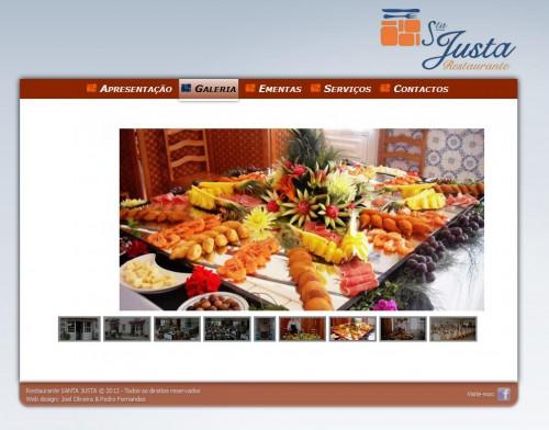 portfolio 8/10  - Restaurante Santa Justa