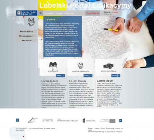 portfolio 9/10  - Portal Educacional