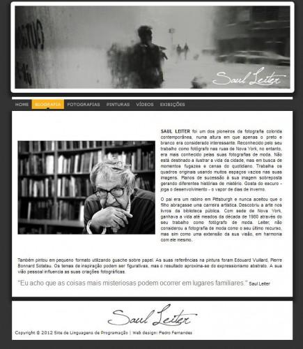 portfolio 10/10  - Biografia