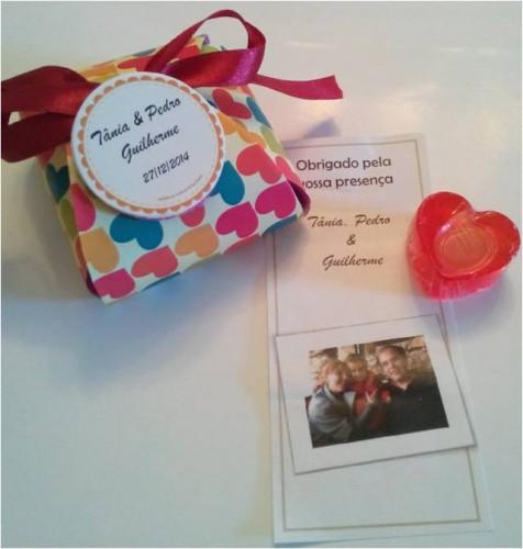 portfolio 11/15  - Bolsa artesanal em EVA com sabonete em forma de coração