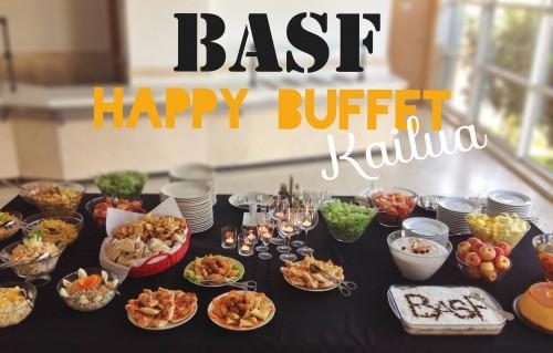 portfolio 1/3  - Simples Happy Buffet na empresa Basf