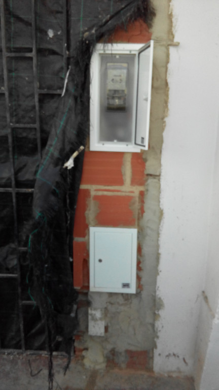 portfolio 6/6  - Mudança de contador do interior para exterior
