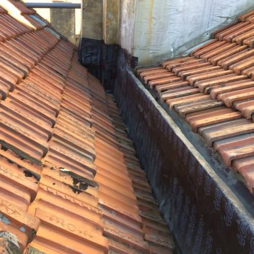 portfolio 5/14  - Impermeabilização - renovação de telhados antigos