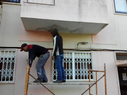 portfolio 2/14  - Reparações varandas e terraços em betão