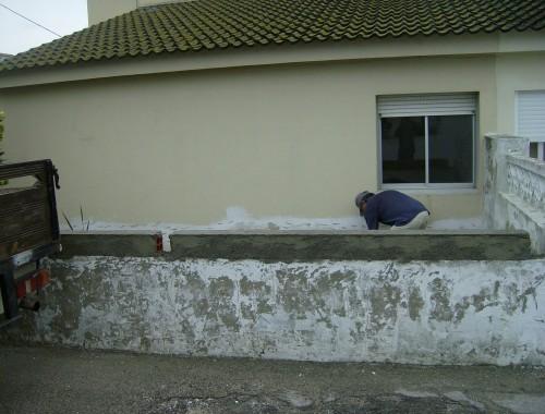 portfolio 10/44  - Remodelação e pintura de vivenda no Faralhão
