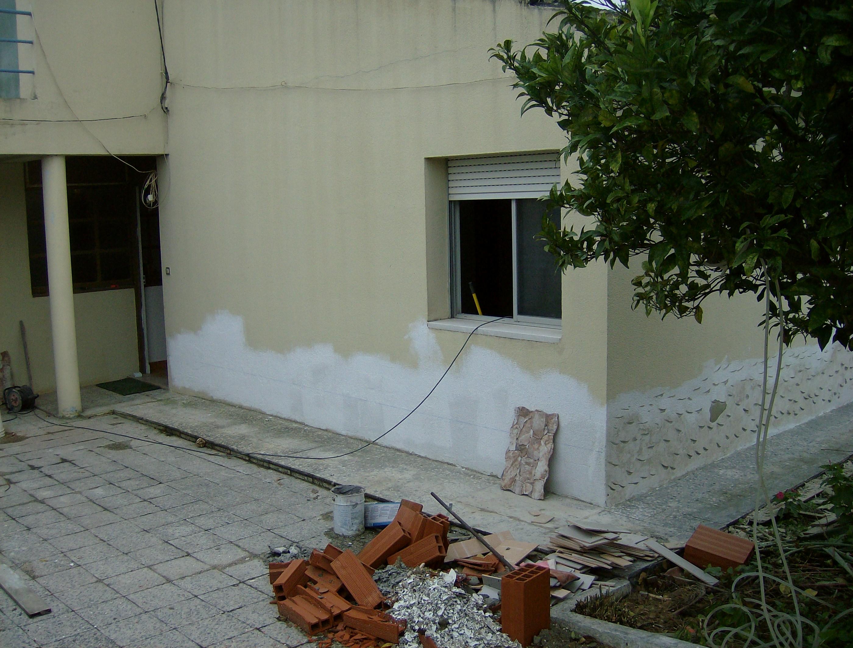 portfolio 43/44  - Remodelação e pintura de vivenda no Faralhão