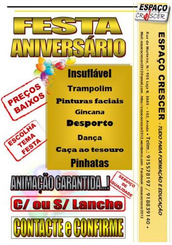portfolio 5/14  - Festas de aniversário
