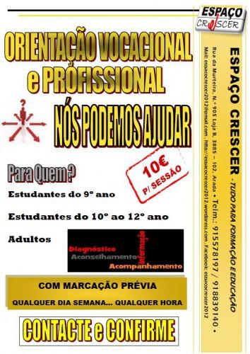 portfolio 3/14  - Orientação Vocacional e Profissional