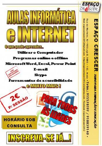 portfolio 2/14  - Aulas de Informática e Internet
