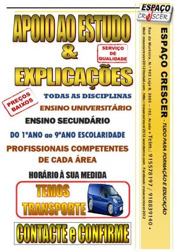 portfolio 14/14  - Apoio ao Estudo e Explicações