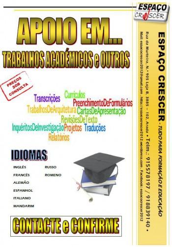 portfolio 12/14  - Auxílio em trabalhos académicos