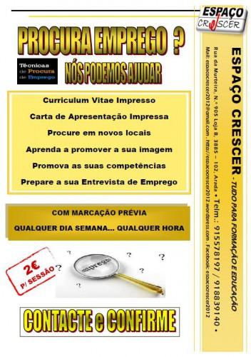 portfolio 11/14  - Sessões de Procura Ativa de Emprego