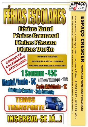 portfolio 10/14  - Férias escolares