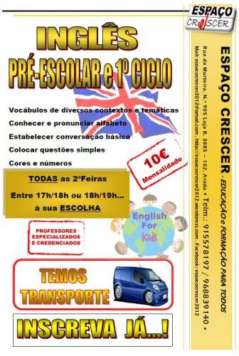 portfolio 7/14  - Inglês pré-escolar
