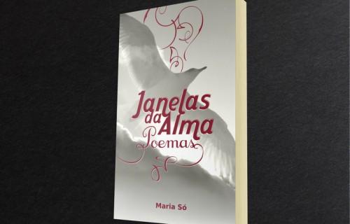 portfolio 5/15  - Edição em capa mole, da autora Maria Só, edição de autor > Criação de capa (foto GMoura), grafismo, paginação e arte final