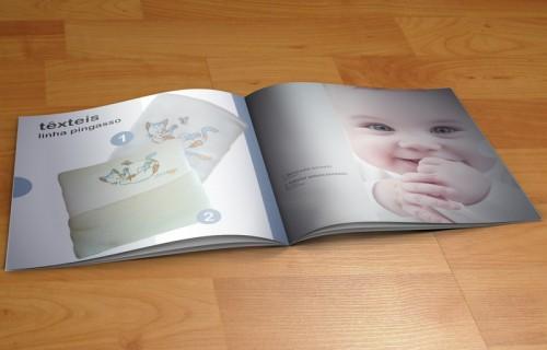 portfolio 2/15  - Edição digital, catálogo de produtos da marca Pingasso - Mobiliário e Decoração Infantil > Fotografia, paginação e arte final
