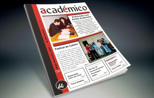portfolio 1/15  - Periódico académico, da Associação de Estudantes IPS > Diagramação, paginação e arte final
