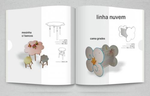 portfolio 12/15  - Edição digital, catálogo de produtos da marca Pingasso - Mobiliário e Decoração Infantil > Vectorização, paginação e arte final