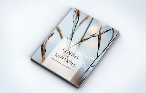 portfolio 11/15  - Edição em capa mole, da autora Fernanda Tia, edição de autor > Criação de capa, paginação, arte final impressão e acabamentos