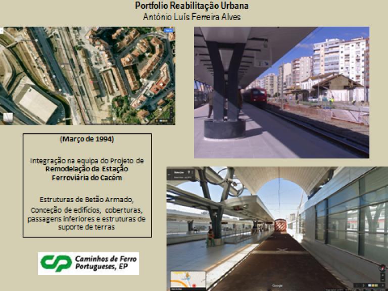 portfolio 11/14  - Portfolio - Reabilitação Urbana - António Luís Ferreira Alves