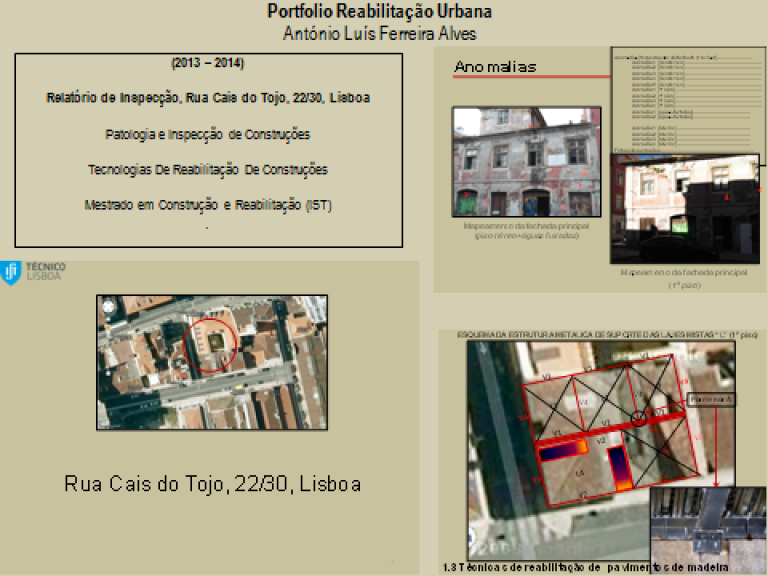 portfolio 1/14  - Portfolio - Reabilitação Urbana - António Luís Ferreira Alves