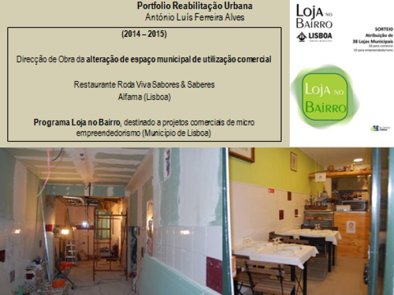 portfolio 2/14  - Portfolio - Reabilitação Urbana - António Luís Ferreira Alves