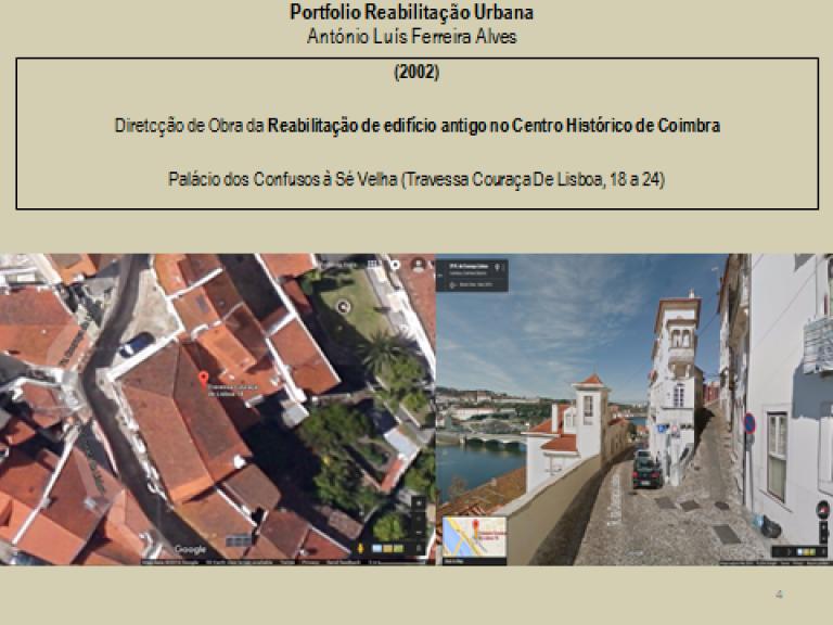 portfolio 5/14  - Portfolio - Reabilitação Urbana - António Luís Ferreira Alves