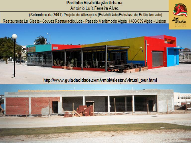 portfolio 6/14  - Portfolio - Reabilitação Urbana - António Luís Ferreira Alves