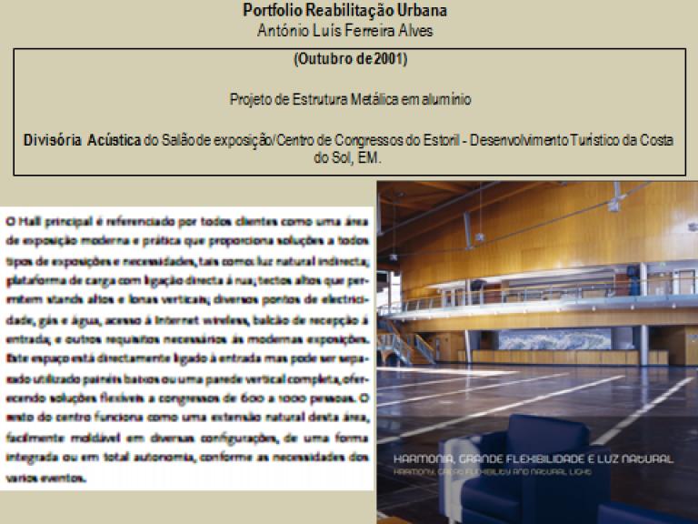 portfolio 4/14  - Portfolio - Reabilitação Urbana - António Luís Ferreira Alves
