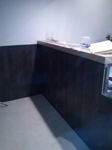 portfolio 25/37  - balcão e lambrim de parede no restaurante (pizza na brasa)lx.