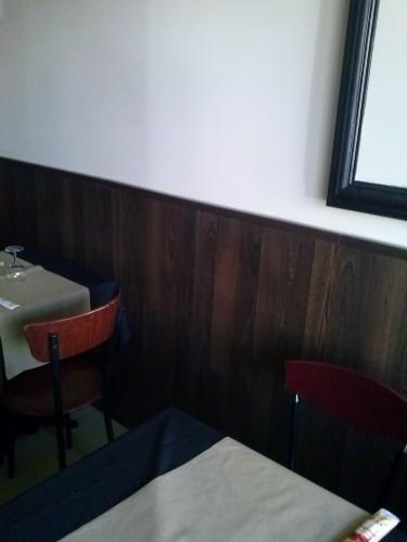 portfolio 23/37  - o e lambrim de parede no restaurante (pizza na brasa)lx.