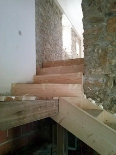 portfolio 4/37  - escada feita em alcainça , habitação rural