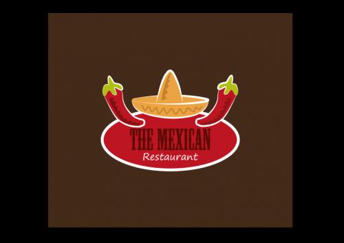 portfolio 41/51  - Lógotipo Experimental - The Mexican Restaurant